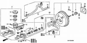 Brake Master Cylinder   Master Power For 2007 Honda Jazz