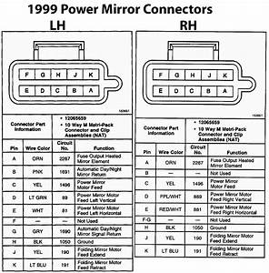 02 Power Mirrors On A 97 Wiring Help  - Blazer Forum