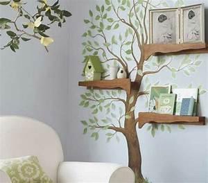 Baum An Wand Malen : kinderzimmer deko baum ~ Frokenaadalensverden.com Haus und Dekorationen