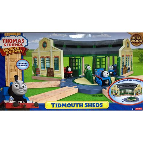 and friends tidmouth sheds playset friends wooden railway tidmouth sheds at hobby