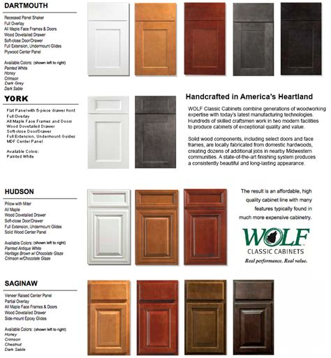 11 wolf classic cabinets sizes k n sales houston