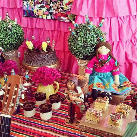 peruvian theme party birthday party ideas photo