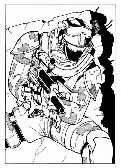 Recon Ghost Soldier Future Deviantart Fanart Fan