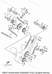 Yamaha Motorcycle 2003 Oem Parts Diagram For Camshaft