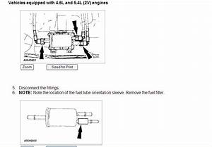 2003 Ford Expedition 5 4 Where Is Fuel Filter Located