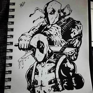 Deadpool vs Deathstroke by SafeerRAZA123 on DeviantArt