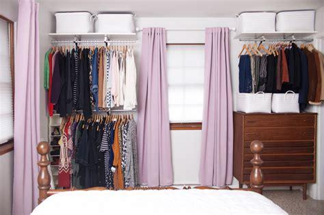 creating an open closet system a beautiful mess