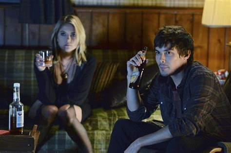 Hanna and Caleb Kiss — But Do They Make Up?   Pretty ...