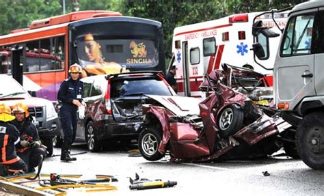 Past Accidents At Loyang Avenue
