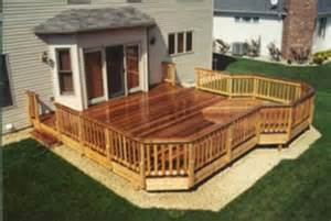 20 x 20 deck with 10 extension building plans only at menards decks decks