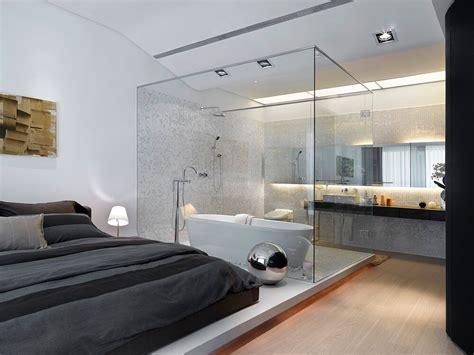 En Suite Zimmer Bad Schlafzimmer by Baddesign Und Schlafzimmer Vereint Geht Das Spadesign