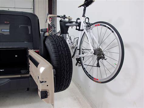 tire bike rack jeep wrangler yakima spareride 2 bike rack spare tire