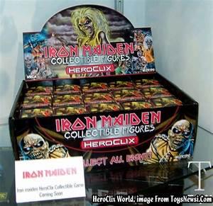 HeroClix World - Iron Maiden HeroClix Spoilers