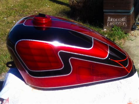 Custom Painted Sporty Gas Tank For Sale