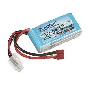 glacier mah   lipo battery