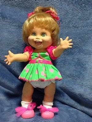 dolls galoob images  pinterest baby faces