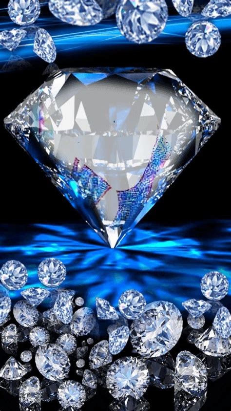 You can also upload and share your favorite blue wallpapers. Wallpaper...By Artist Unknown... | Diamond wallpaper, Bling wallpaper, Diamond background
