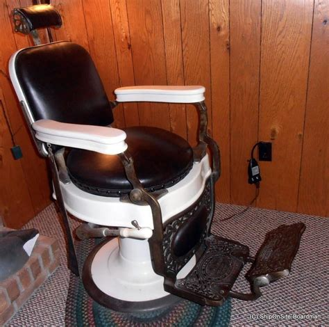 Theo A Kochs Barber Chair Models by Barber Chair Antique For Sale