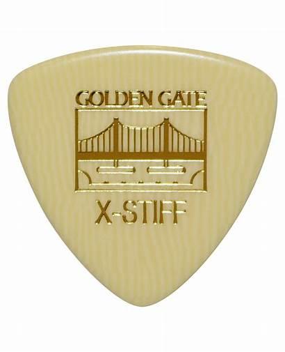Mp Gate Golden Pick Triangle Flat Ivoroid