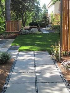 amenagement allee de jardin et chemin de pierre en 95 With decoration allee de jardin