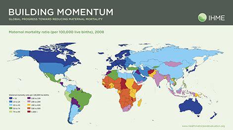 maternal mortality ratio    births global