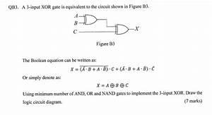 Xor Logic Gate Circuit Diagram
