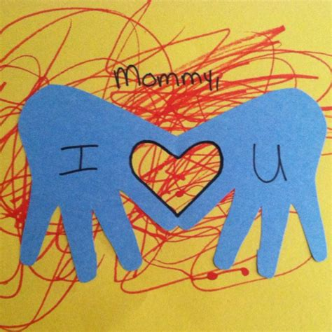 mothers day card    year olds  classroom