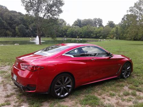 Picture Time 2018 Infiniti Q60 Red Sport 400