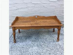 small coffee table 1960s ethan allen victoria city With early american coffee table