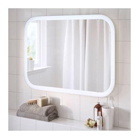 Ikea Bathroom Mirror Malaysia by Storjorm Mirror With Integrated Lighting White 80x60 Cm Ikea