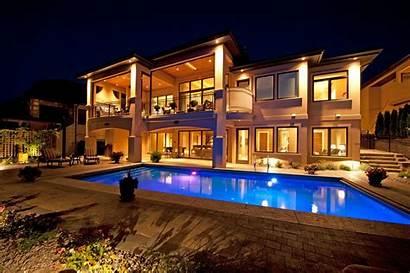Pool Night Pools Swimming Homes Villa Naght