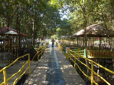 taman wisata mangrove bsd bontang alternatif tempat