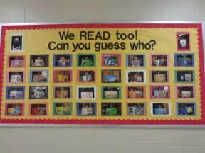 Reading Teacher Bulletin Board