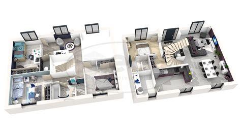 interieur maison en 3d maison moderne