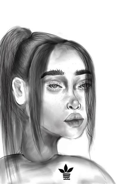 Billie Eilish Portrait Attempt – The Warrior Messenger