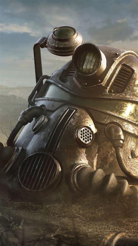 Fallout Iphone Xs Max Wallpaper by Fallout 4 Casco 1080x1920 Iphone 8 7 6 6s Plus Fondos De