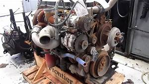 2005 Caterpillar C13 Acert Engine Running - Kcb