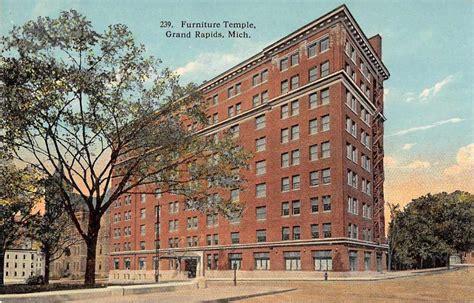 Upholstery Supplies Grand Rapids Mi by Grand Rapids Michigan Furniture Temple Antique Postcard