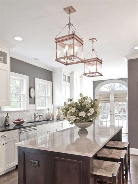 how to decorate with gray walls how to hang and decorate with kitchen pendant lights betterdecoratingbiblebetterdecoratingbible