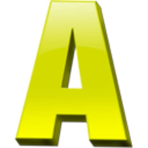 letter a png letter a icon 1 free images at clker vector clip 37457