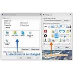 Desktop Windows Change Icons Icon Restore Revert