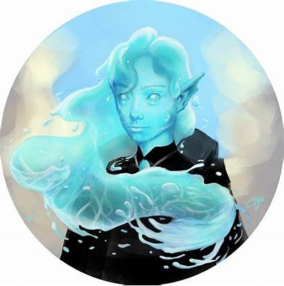Deviantart Water Genasi Character Fantasy Dnd Races