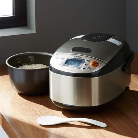 zojirushi rice cooker  cup crate  barrel
