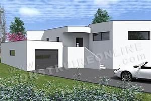 vente de plan de maison avec terrain en pente With plan maison demi niveau 14 vente de plan de maison avec terrain en pente