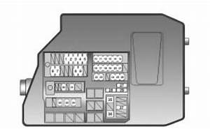 Pontiac Vibe  2010  - Fuse Box Diagram