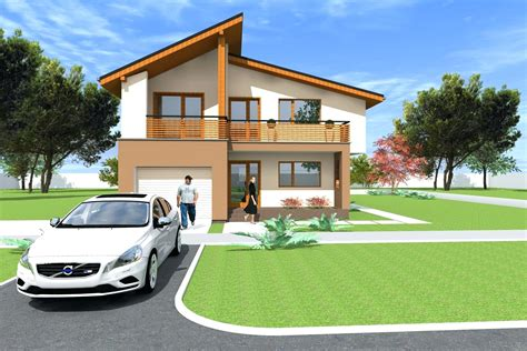 Decoration Rooftop House Design 2 Story Plans With Roof