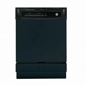 Ge Front Control Dishwasher In Black-gsd4000kbb