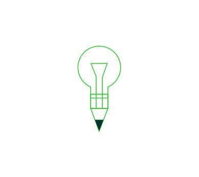 vector education idea logo  vector logos