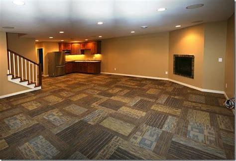 carpet tiles  basement images  pinterest