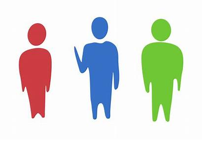 Clipart Different Human Humans Vector Three Abstract